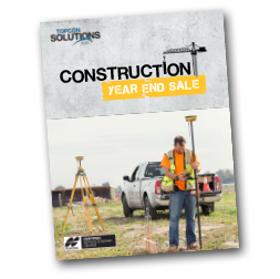Construction Year End Sale